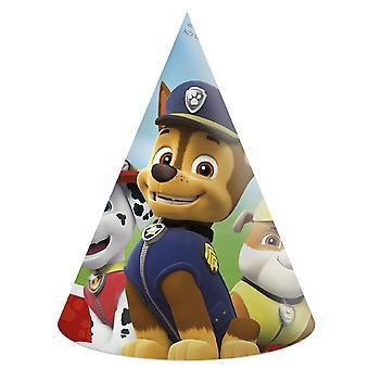 Patte de patrouille partie chapeaux 6 pièce enfants fête d'anniversaire Thème