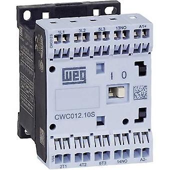 WEG CWC012-01-30D24S contactor 3 beslutsfattare 5,5 kW 230 V AC 12 A + extra kontakt 1 st. (s)