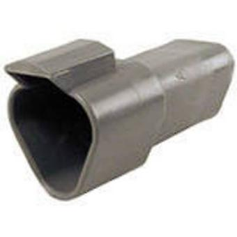 TE Connectivity DT04-3P-C015 Bullet connector Plug, straight Series (connectors): DT Total number of pins: 3 1 pc(s)