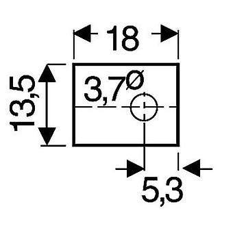 Fischer Elektronik GS 66 P Mica-arkki (L x k) 18 mm x 13,5 mm sopii TOP 66 1-tieto koneelle (-)