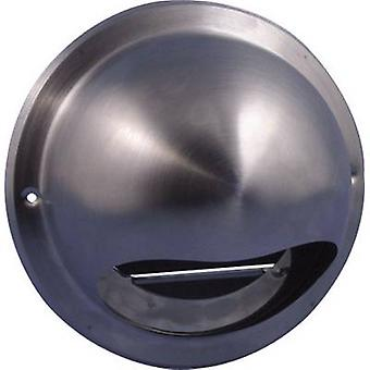 Wallair N34835 Extractor hood Stainless steel Suitable for pipe diameter: 10 cm