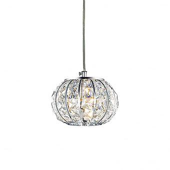 Ideal Lux Calypso Mini 15cm Globe de cristal en pendentif