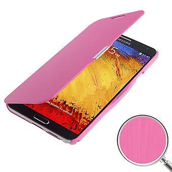 Etui de téléphone portable pour Samsung Galaxy touch 3 N9000 rose brossé