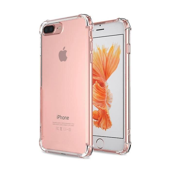 Stuff Certified ® Transparent Clear Bumper Case Cover Silicone TPU Case Anti-Shock iPhone 7