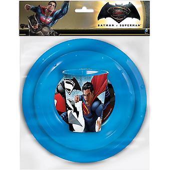 Batman VS supermies lounas asettaa 3 kpl