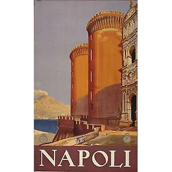 Impression Poster Napoli par Collection PI (12 x 18)