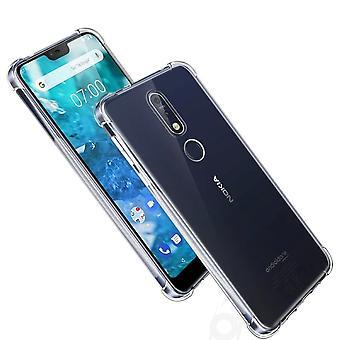 Nokia 7.1 avoin kattaa silikoni