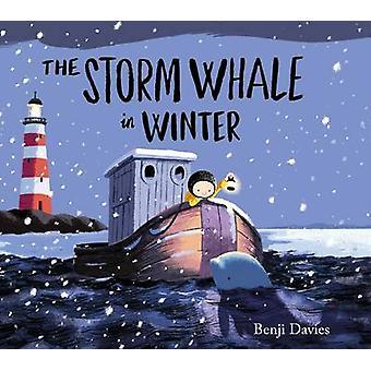 Storm hvalen vinteren av Benji Davies - 9781471119989 bok