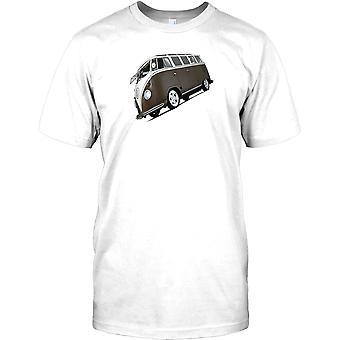 VW Van - dividir pantalla Camper Van Mens, camiseta