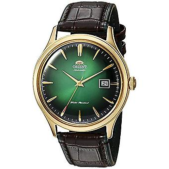 Orient Automatic Analog Man with a leather strap FAC08002F0