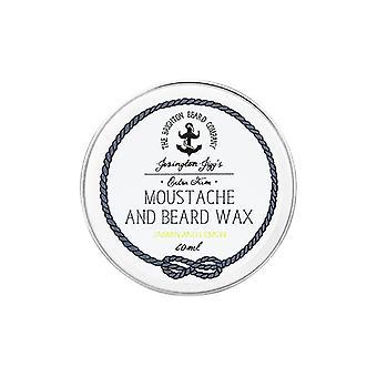 The Brighton Beard Company Extra Firm Moustache Wax - Jasmin and Lemon - 60ml