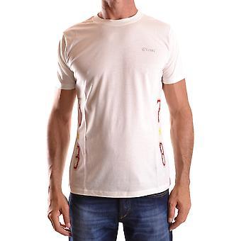 Diesel Ezbc065010 Uomo's T-shirt in cotone bianco