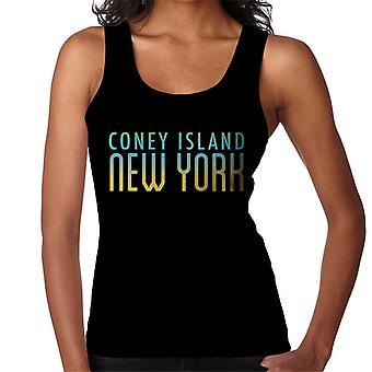 Colete de Coney Island, Nova York feminino