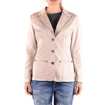 Liu Jo Ezbc086167 Women's Beige Cotton Blazer