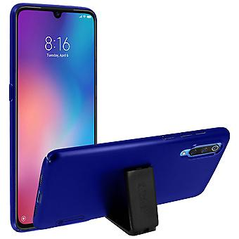 Frosted Shield Nillkin Set: Cover + stand video for Xiaomi Mi 9 – Dark Blue