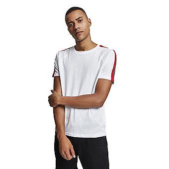 Urban Classics Men's T-Shirt Stripe Shoulder Raglan