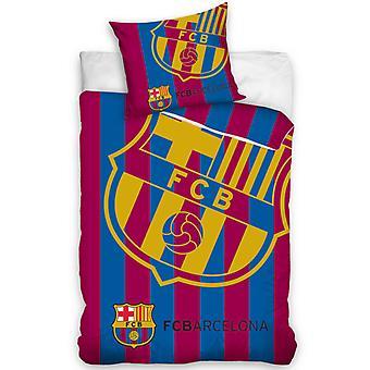 FC Barcelona Corner logo enda påslakan set