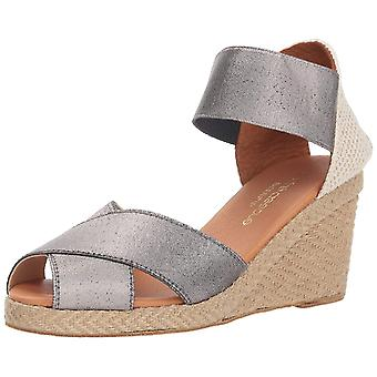André Assous Womens Erika Fabric Peep Toe Special Occasion Espadrille Sandals