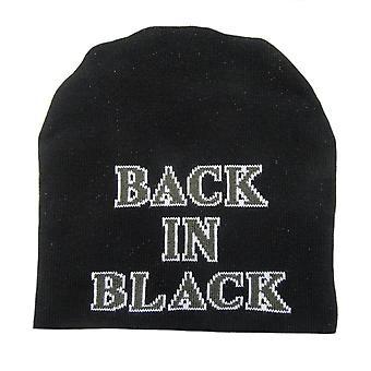 Plastic head - ac/dc back in black - beanie