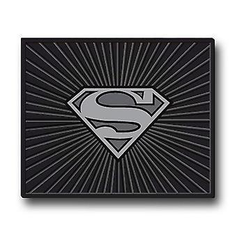 スーパーマンシンボルカー&トラックリアフロアマット