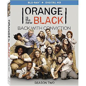 Oransje er den nye Black sesong 2 [BLU-RAY] USA importen