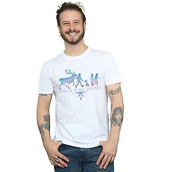 Disney Men's Frozen 2 Believe In The Journey Silhouette T-Shirt