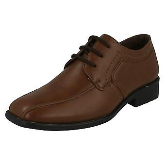 Boys JCDees Trendy Lace Up Formal Shoes N1109