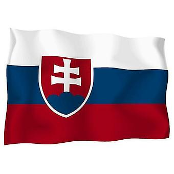 Sticker Sticker Sticker Outdoor Flag Vinyl Car Moto Slovakia Slovak