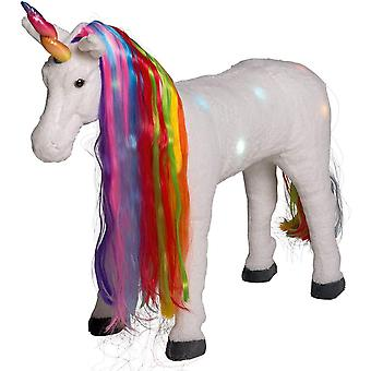 Giant Sit On Unicorn with Light and Sound