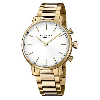 Kronaby S2447-1 Women's Carat Smartwatch Gold Tone