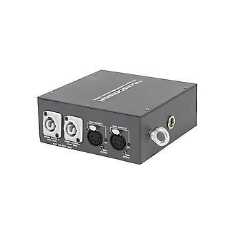 Transcension Hs2 Hybrid Powercon Dmx Verteilungssplitter