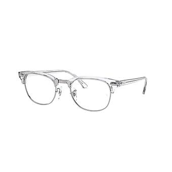 Ray-Ban Clubmaster RB5154 2001 White Transparent Glasses