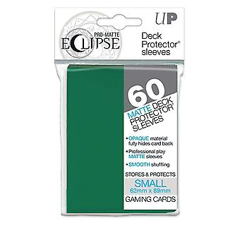 Pro-Matte Eclipse Forest Green Small Deck Protector sleeve 60ct (Pack of 12)