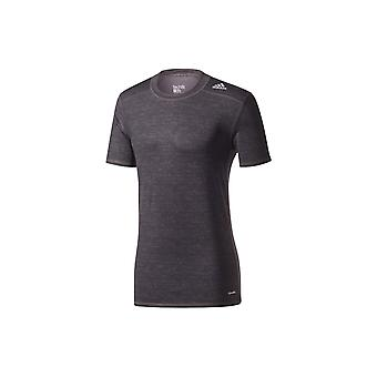 T-shirt de fitness/training Adidas Performance Tech Fit BASE FITTED Black Noir