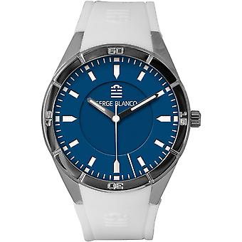 Serge Blanco All Colors SB1095-9 - watch dial Blue Man