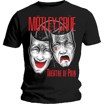 Motley Crue Theatre of Pain Rock Metal Official T-Shirt
