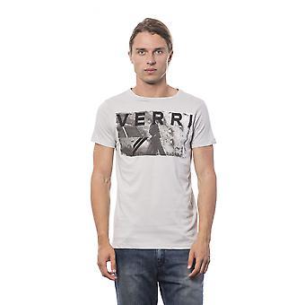 Men's Verri short-sleeved grey T-shirt