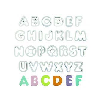 PME Alphabet Uppercase Letter Cutter Set