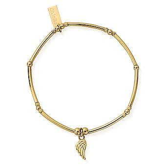 Chlobo GBMNFB2566 kvinnor ' s Gold Tone Divinity inom armband