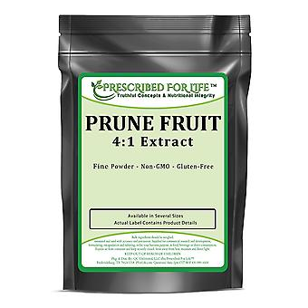 Prune-tørret blomme 4:1 pulver ekstrakt-fordøjelse, knogle & muskel støtte (Prunus domestica)