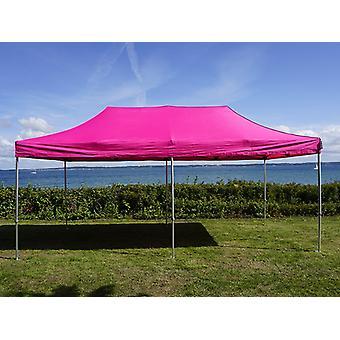 Pop up gazebo FleXtents PRO 3x6 m Pink