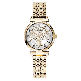 ORPHELIA Women Analogue Watch Gold Stainless steel OR12701