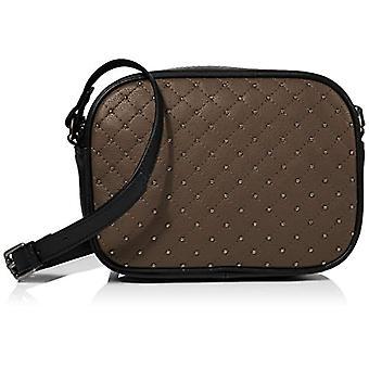 HotterGem Women's Strap bag (Black Pewter Stud)22x16x56 Centimeters (W x H x L)