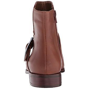 Aerosole Womens zurück East Leder Mandel Toe Knöchel Mode Stiefel