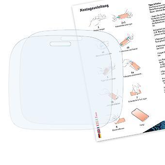 Bruni 2x Schutzfolie kompatibel mit Alcatel One Touch Glam 810D Folie