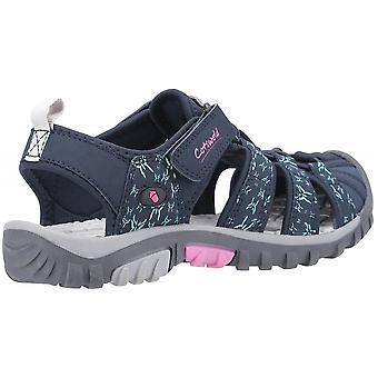 كوتسوولد ساندهيرست السيدات اللمس ربط الترفيه الأحذية البحرية / الوردي