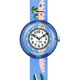 Flik Flak Watches Fbnp111 Islagator Textile Watch