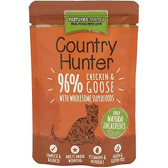 Natures Menu Hunter Country Cat Pouch Chicken & Goose  (Cats , Cat Food , Wet Food)