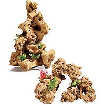 Classic For Pets S/Stone Arch/Plant/A320mm (Fish , Decoration , Rocks & Caves)