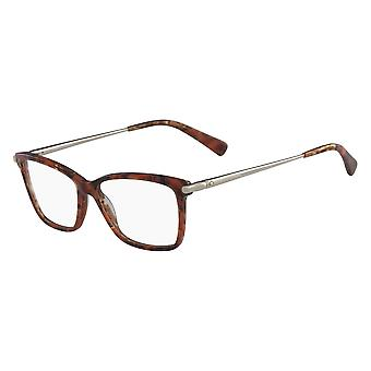 Longchamp LO2621 203 Marble Brown Glasses